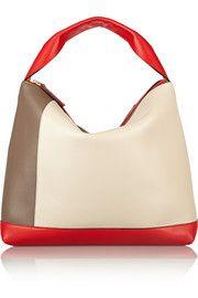 MarniPod color-block leather shoulder bag