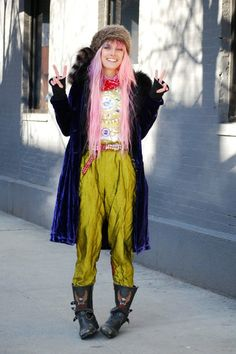 The Best Street Style from New York Fashion Week, Day 6: Chloe Norgaard Model
