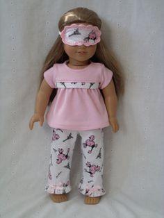 Etsy listing at https://www.etsy.com/listing/254711419/american-girl-doll-pajamas-and-sleep