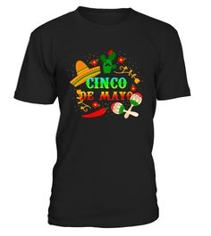 CHECK OUT OTHER AWESOME DESIGNS HERE!  Cinco de Mayo T-Shirt, Cinco De Mayo Shirt Mexican- American Holiday Celebration Costume Tee for Men, Women, Boys, Girls and Kids.Cinco De Mayo is the best start to the month of May 5th. Perfect for the Cinco De Mayo celebrations fiesta, Pinata t shirt. Perfect gifts to share with your Cinco de Mayo party friends.       TIP: If you buy 2 or more (hint: make a gift for someone or team up) you'll save quite a lot on shipping.     Guaranteed safe an...