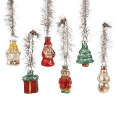 CA 24XColorful XMAS Small Gift Boxes  Christmas Tree Hanging Decoration Ornament