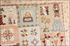 "Patchwork *Pink Caramel*: The Top Finished!! ""Quilt Me Club 2013"""