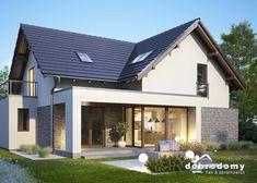 Oliwia Fot. Dobre Domy #projektgotowy #dom #pieknydom #domowy www.domowy.pl