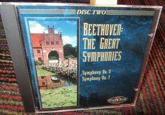BETHOVEN: THE GREAT SYMPHONIES DISC 2 AUDIO CD, SYMPHONY NO.5 & NO.7, GUC