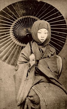 Not necessarily a geisha, but a lady in winter - Google Search