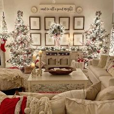 Design Your Spaces ( design_your_spaces ) - Love this beautiful farmhouse Christmas 🎄 decor! What do you think of the double Christmas tree? I love this look but my only concern is where are the p Enjoy my festive buffalo check Christmas Home Tour, com Flocked Christmas Trees, Noel Christmas, Christmas Tree Decorations, White Christmas, Christmas Countdown, Beautiful Christmas, Christmas Mantels, Christmas Design, Gingerbread Christmas Tree