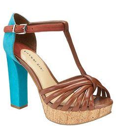 Gianni Bini Lori Platform Sandals $31 #Dillards