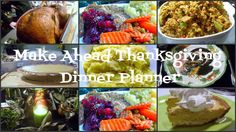 Lyndsay The Kitchen Witch: Make Ahead Thanksgiving Dinner Planner, Timeline, and Easy Recipes