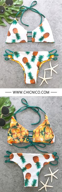 Bikinis are about the most exciting thing to shop for in summer. Hello, holiday feeling. — — Search more at chicnico.com