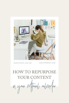 How to repurpose your content in your blogging calendar | Ashlyn Writes | In this blog post, I'm talking you through my strategies to create more content in less time: here are 5 ways to repurpose content in 1 marketing-focused day out of the week by leveraging hero content. #contentmarketing #bloggingtips