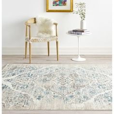 Persian Rugs Vintage Antique Designed Cream Beige Tones Area Rug (7'10 x 10'6) - Free Shipping Today - Overstock.com - 19175448 - Mobile