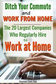 20 Legitimate Work From Home Companies Hiring Now A work from home job will not only save hundreds of dollars per month in commuting, but a work at home job will give you back time in your day. Work From Home Companies, Work From Home Opportunities, Work From Home Tips, Work At Home Jobs, Job Work, Business Opportunities, Earn Money From Home, Way To Make Money, Companies Hiring