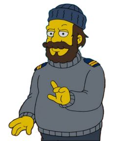 Captain Bowditch Simpsons Characters, Fictional Characters, The Simpsons, Bart Simpson, Zero, Boys, Character, Baby Boys, Fantasy Characters