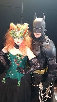 Poison Ivy makes a new friend (thanks to Jezebel de Ville for this).