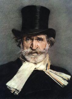 Giovanni Boldini - Portrait of Giuseppe Verdi in a Top Hat 1886