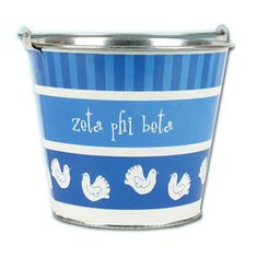 Zeta Phi Beta Sorority Pail $9.99