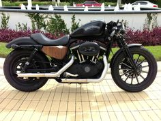 Eames inspired Harley Davidson Iron 883