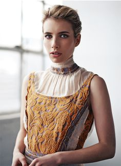 Emma Roberts in PRADA Spring 2015 for Heroine Magazine Spring Issue