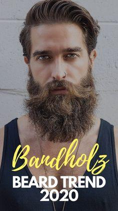 31 Hottest Bandholz Beard Trends Long Beard Styles, Beard Styles For Men, Short Hair Styles, Cool Hairstyles For Men, Men's Hairstyles, Beard Growth, Beard Care, Beard Trend, Mens Facial