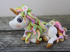 A personal favorite from my Etsy shop https://www.etsy.com/listing/557092872/unicorn-cake-toppergirls-birthday-cake
