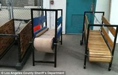 Training equipment: The treadmills used for training the dogs found at the property