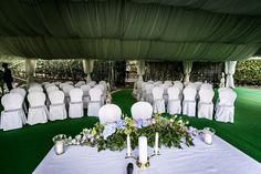 Italian wedding ceremony decor