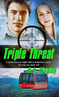 Shannon here: Romantic Suspense/Thriller author, H. Wegley shares how he met his wife plus a chance to win a copy of his latest release, Triple Threat. Pure Genius, Happy Reading, You Never, Archetypes, Are You The One, Real Life, Meant To Be, Romance, Pure Products
