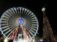 Christmas shopping in Lille, France