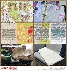 Go and Live Your Dream Bundle from Studio Basic Designs; 365 Unscripted: Plastic Stitched Grids from Traci Reed; Font: Andes