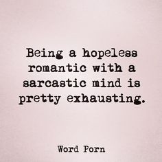 Extremely exhausting
