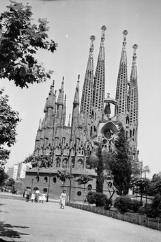 Sagrada Familia 1953