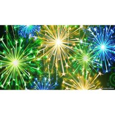 New Years Eve Fireworks Wallpaper ❤ liked on Polyvore featuring backgrounds, detail and embellishment