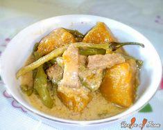 Ginataang Sitaw at Kalabasa Recipe - Recipe Ni Juan Filipino Dishes, Filipino Recipes, Asian Recipes, Filipino Food, Ethnic Recipes, Dinengdeng Recipe, Ginataan Recipe, Pork Recipes, New Recipes