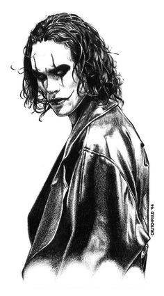 The Crow by *MichaelCrutchfield on deviantART