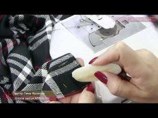 Видео-урок. Как сделать петлю на тонкой ткани