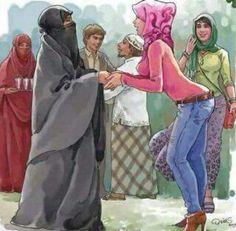 Hijab syar'i vs jilboob