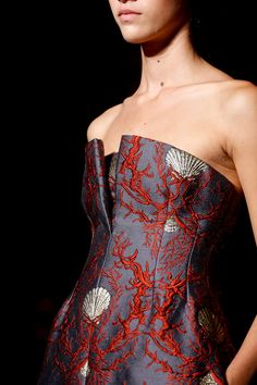 Details at Valentino Fall 2013 Couture