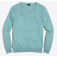 J.Crew Harbor cotton V-neck sweater ($30) ❤ liked on Polyvore featuring men's fashion, men's clothing, men's sweaters, j crew mens sweaters, men's v neck sweater, mens vneck sweater, men's cotton v neck sweater and mens cotton sweaters