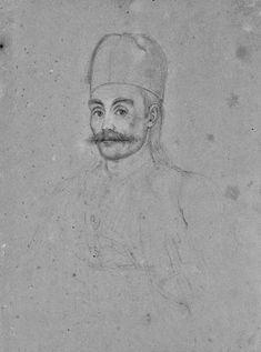Γεώργιος Καραϊσκος -  Καραϊσκάκης Το πορτρέτο έγινε λίγο πριν το θάνατό του και έμεινε ημιτελές Μολύβι σε χαρτί