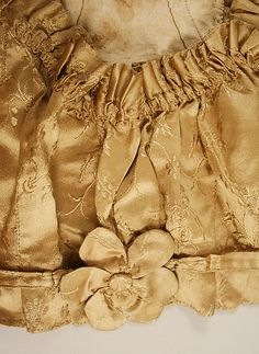 Spencer Date: early 19th century Culture: American or European Medium: silk
