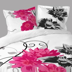 1000 images about housse de couette fleur on pinterest for Housse couette 240x260