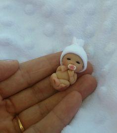 Polymer Clay Polymer Clay Figures, Cute Polymer Clay, Polymer Clay Dolls, Polymer Clay Miniatures, Polymer Clay Projects, Polymer Clay Fairy, Tiny Dolls, Cute Dolls, Barbie Bebe