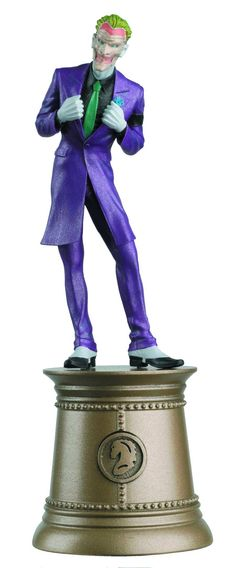 Eaglemoss DC Comics Justice League Chess Joker Figurine