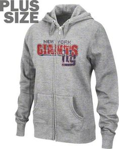 Women s plus size New York Giants hoodie 7f107a429