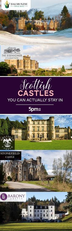 Over on our Food & Dining Blog, Scottish Castles you can actually stay in (with discounts...)