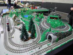 Bildergebnis für lego train for christmas 2012