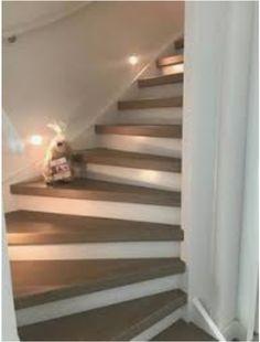 Populair 12 beste afbeeldingen van trap treede verven / bekleden. - Stairs JH08