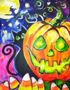 We can get spooky this week in the studio with Halloween