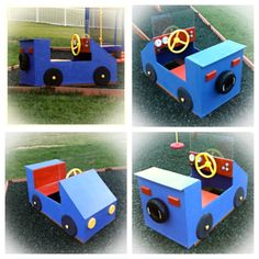 Car for our outside play area.