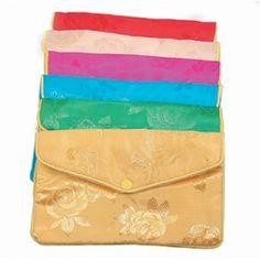 Assorted Silk Pouch    Price: $9.00/dozen